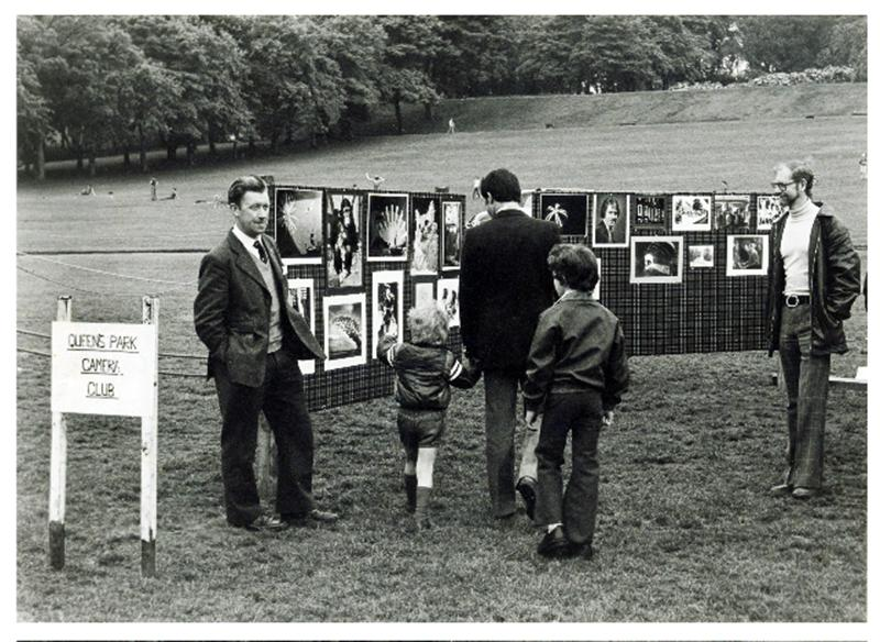 QPCC Exhibition in Queen's Park, Glasgow. June 1979